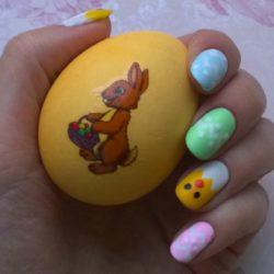 Весенние ногти фото