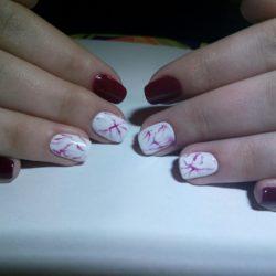 Красивый яркий дизайн ногтей фото