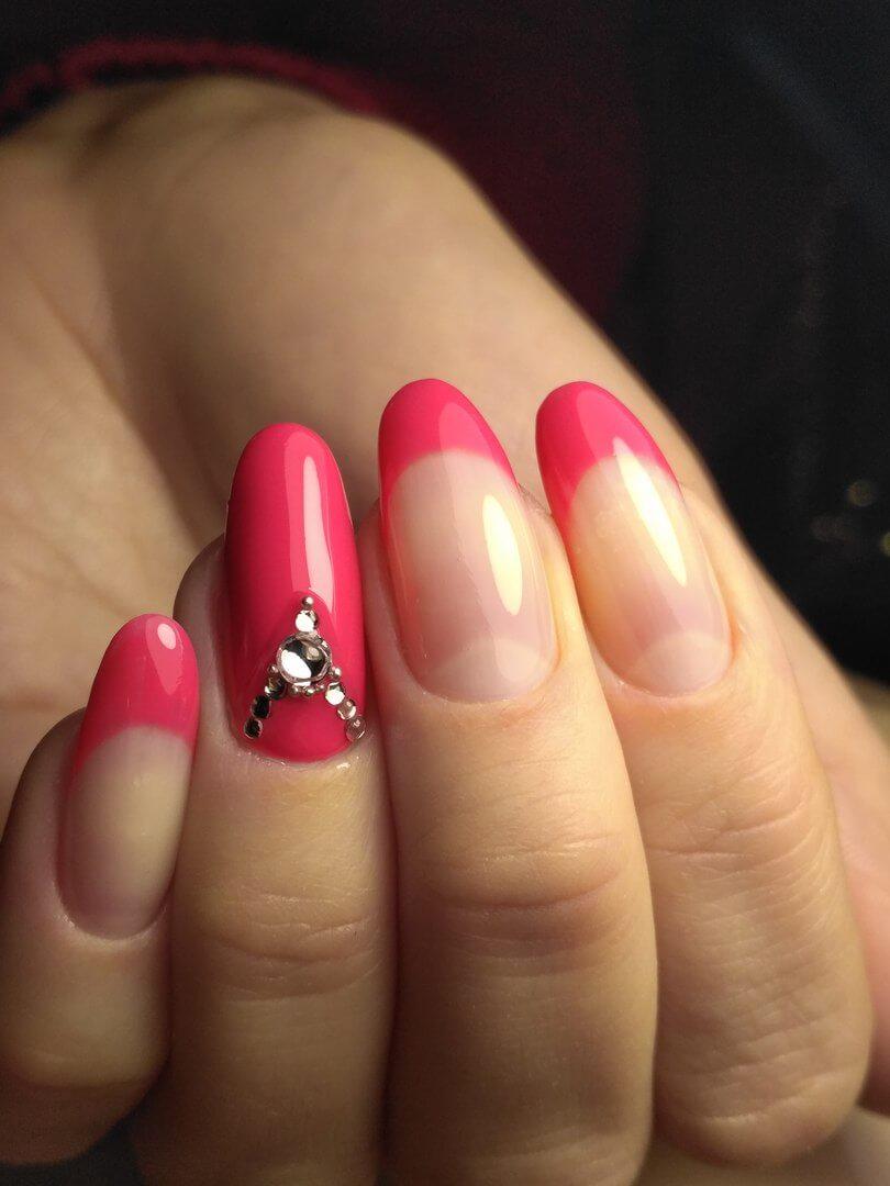 Разноцветные ногти: фото 91