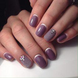 Короткие ногти фото