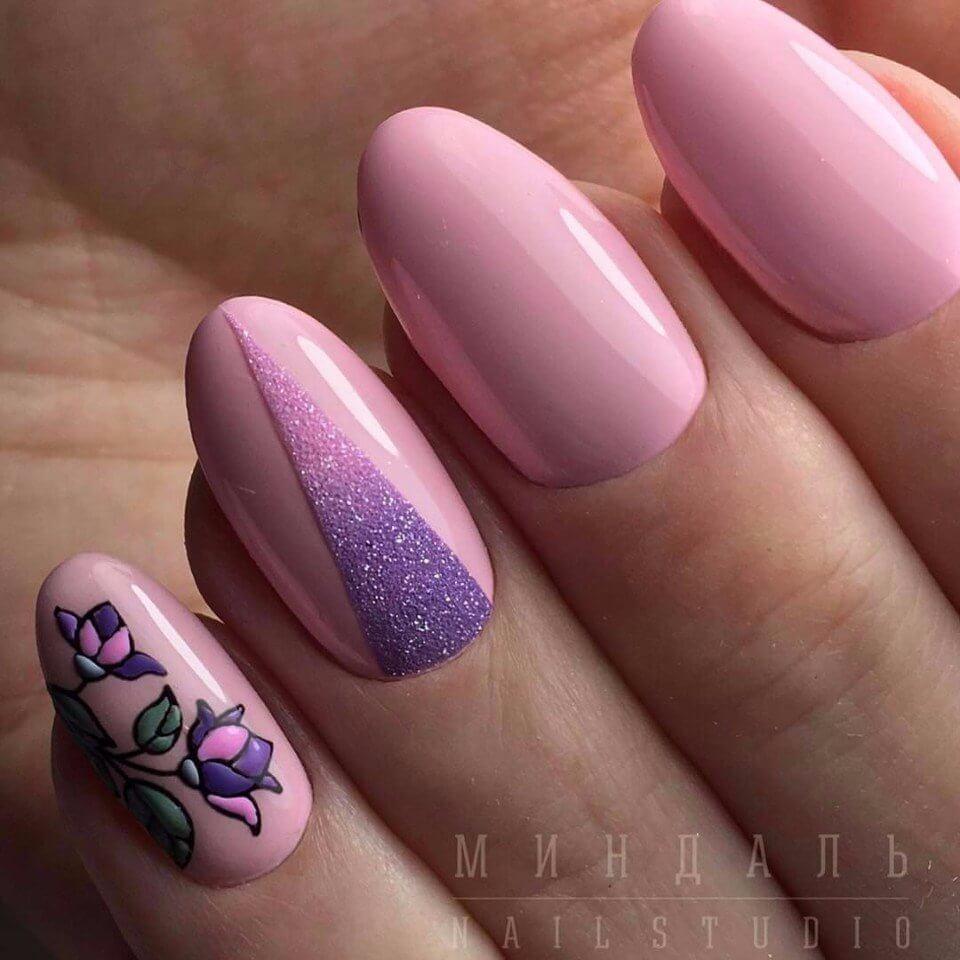 Накрасить ногти под цвет платья