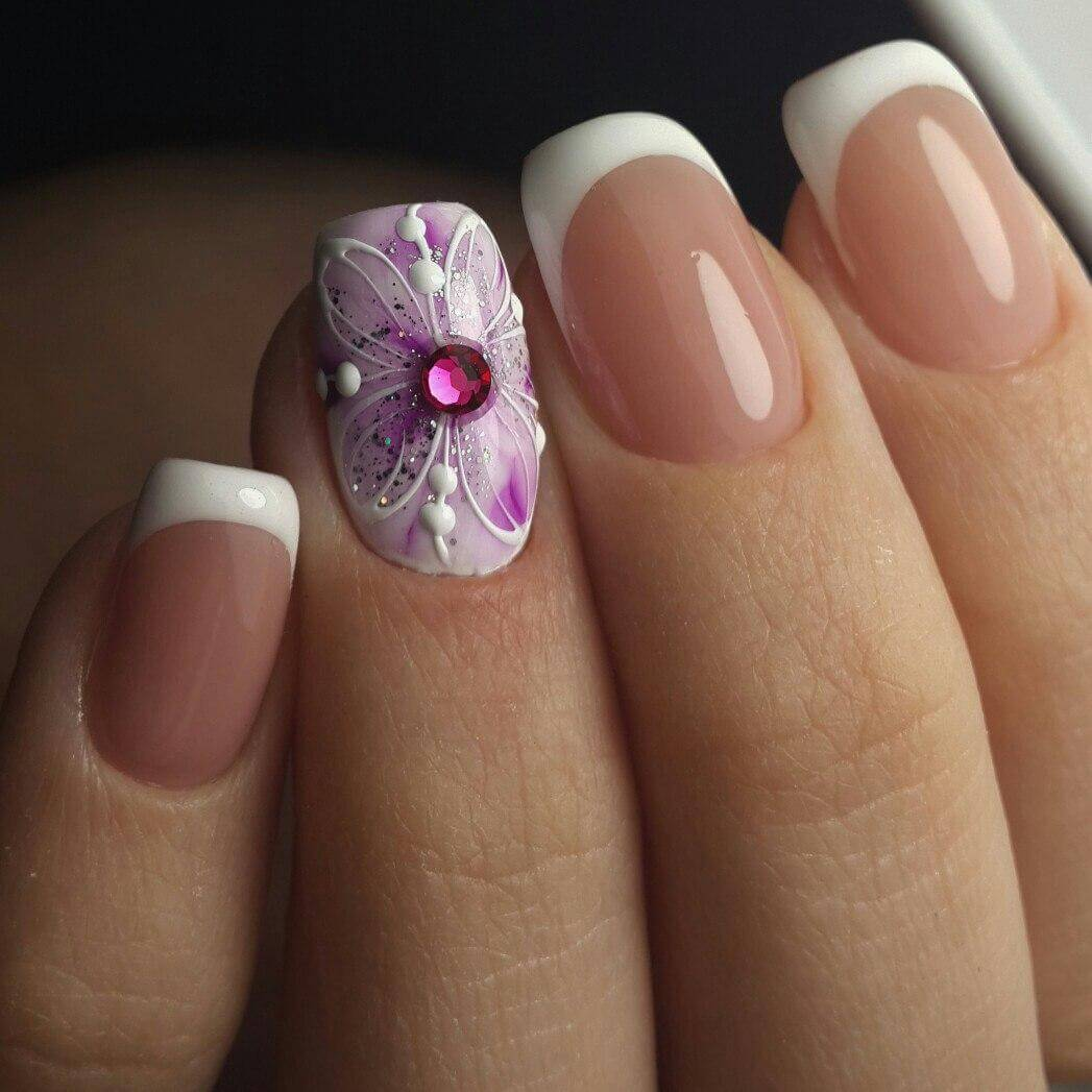 Самые красивые короткие ногти дизайн фото