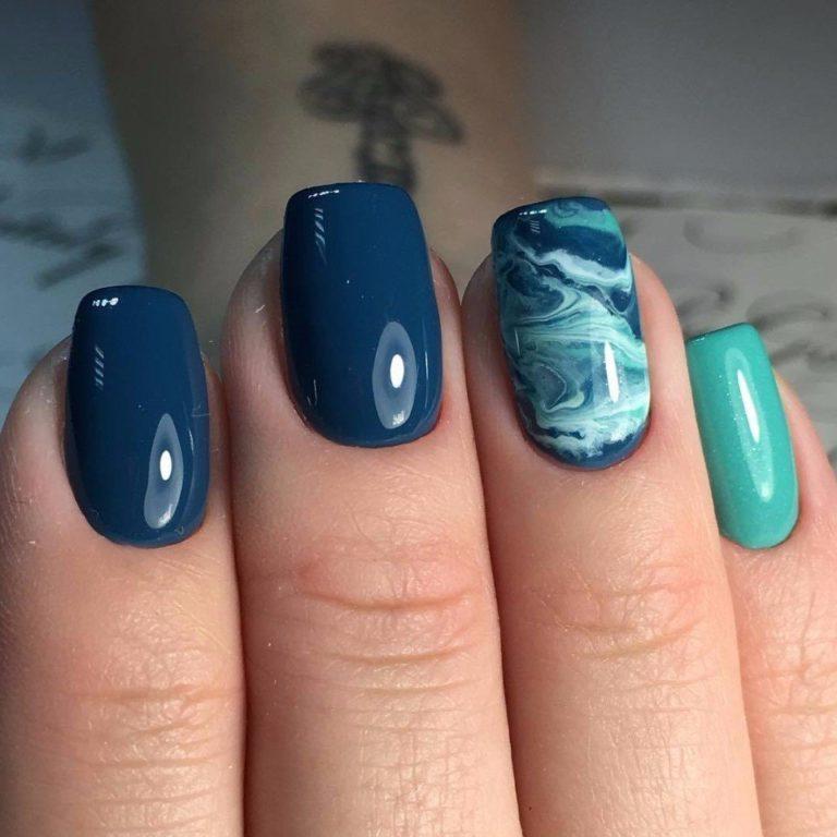 Морской маникюр