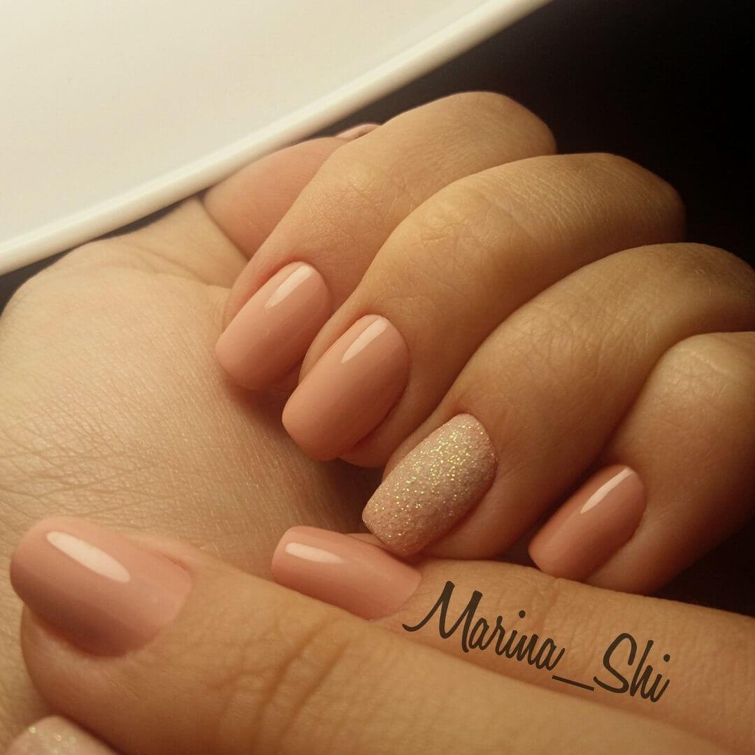 Дизайн натуральных ногтей: фото декора и украшений для 46