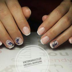 Дизайн коротких ногтей 2017 фото