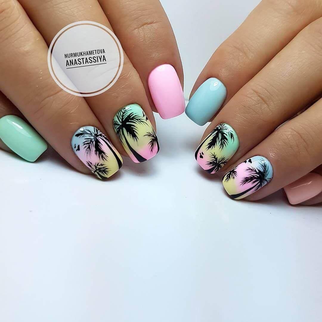 Дизайн ногтей с рисунком - фото идей дизайна ногтей - Best Маникюр 258