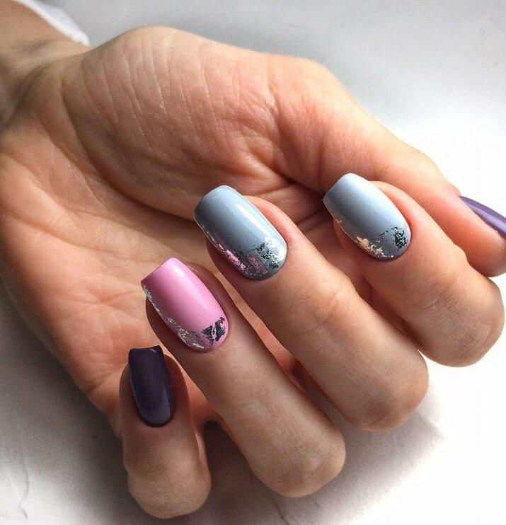 Маникюр на миндалевидных ногтях - фото идей дизайна ногтей