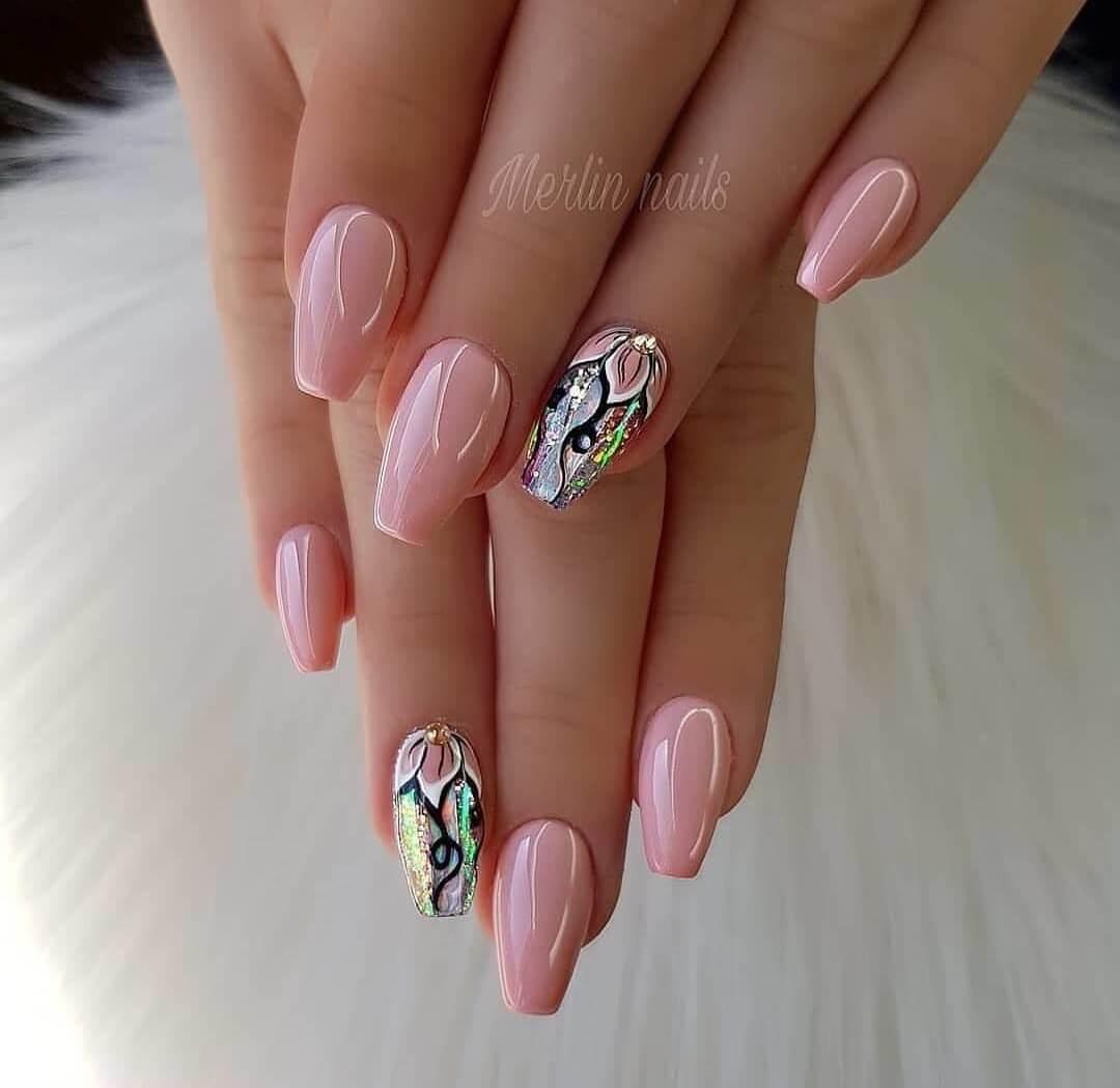 Дизайн ногтей с рисунком - фото идей дизайна ногтей - Best Маникюр 90