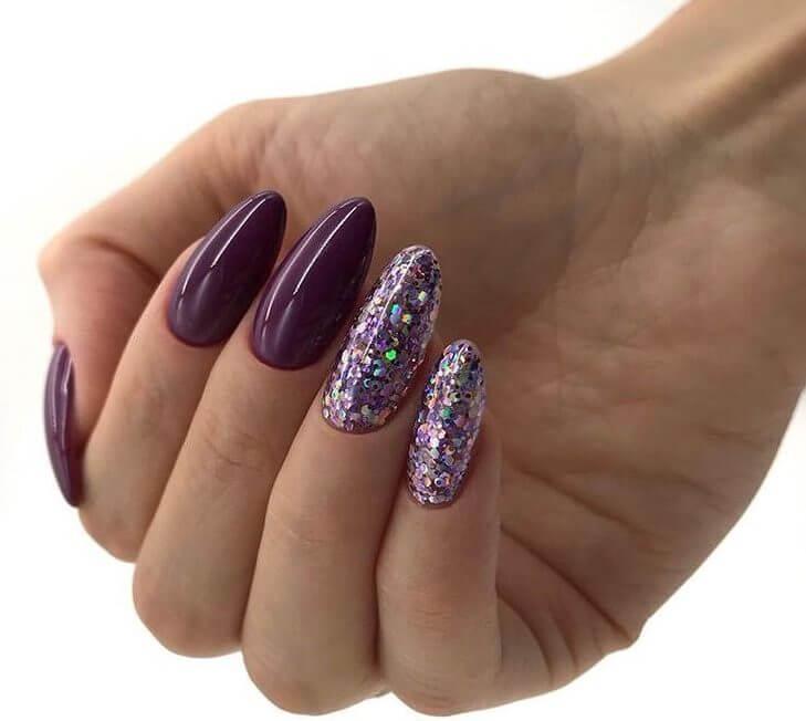 Идеи Фиолетового Маникюра