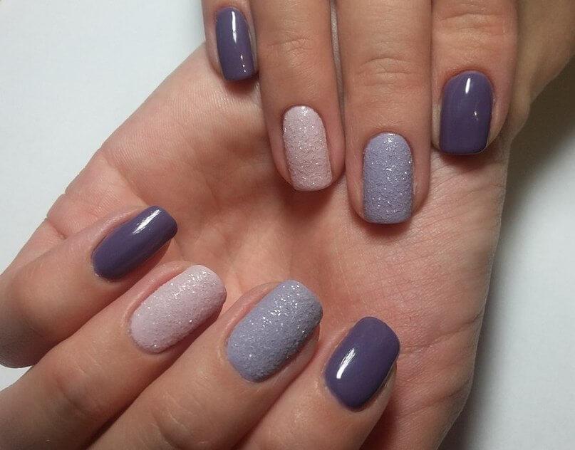 Разноцветные ногти