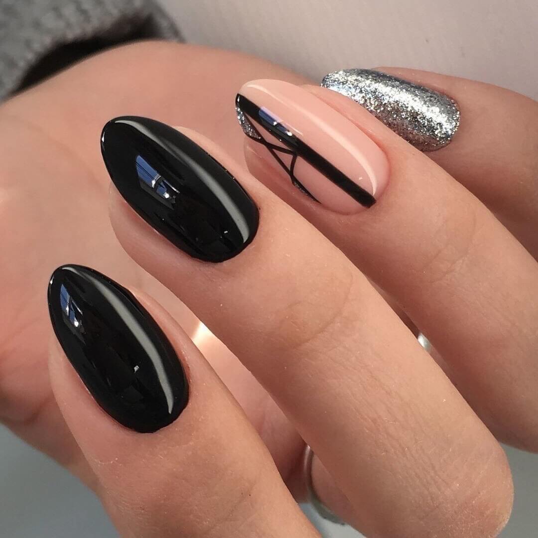 Маникюр с полосками - фото идей дизайна ногтей - Best Маникюр