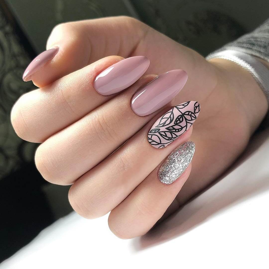 Модный дизайн ногтей гель лаком 2019