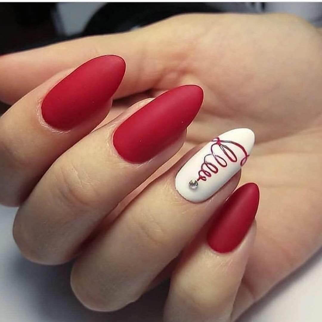 Дизайн Ногтей Матового Цвета Фото