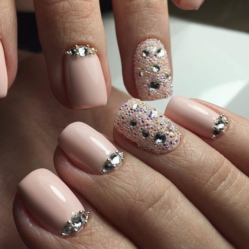 Маникюр с бульонками - фото идей дизайна ногтей - Best Маникюр