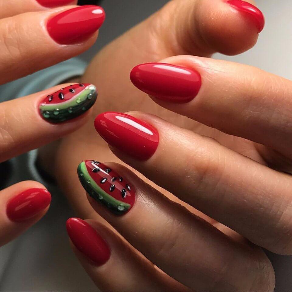 Красный маникюр - фото идей дизайна ногтей - Best Маникюр