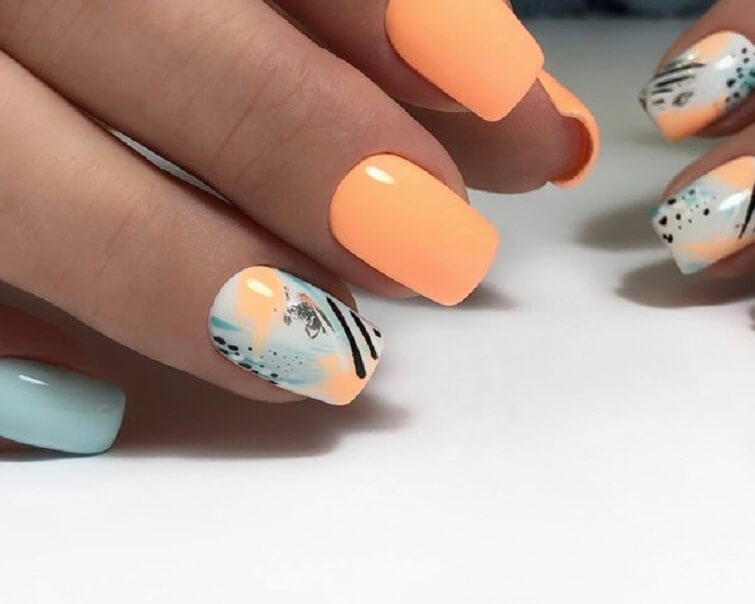 Маникюр на море - фото идей дизайна ногтей - Best Маникюр