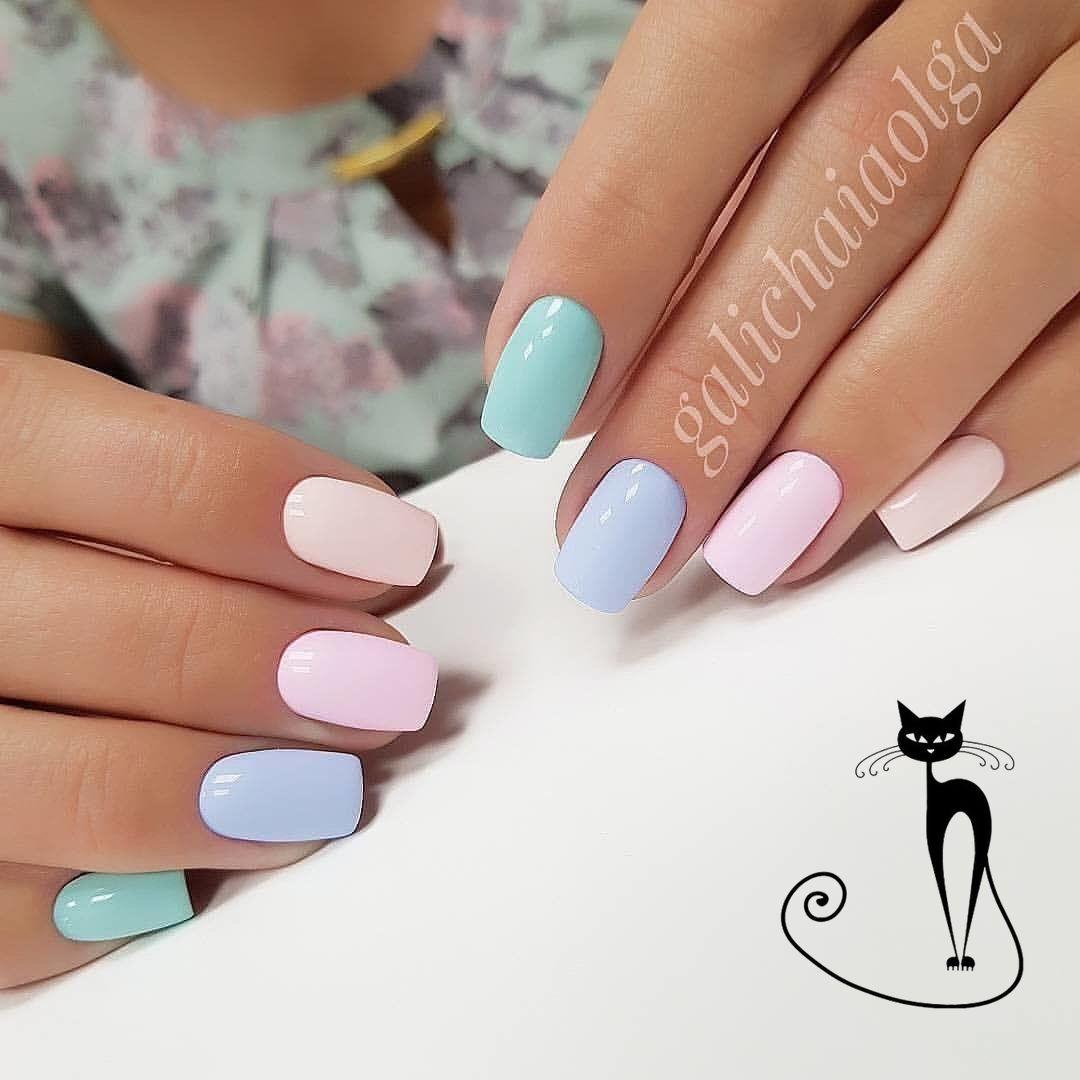 Фото дизайна ногтей, образцов маникюра 2021, идей красивых рисунков на ногтях - Best Маникюр